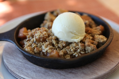 Spcied Apple Crisp by tomcensani via Flickr