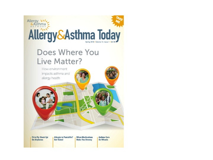 asthma allergy today spring 2016