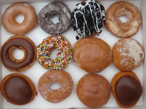 A Dozen Doughnuts from Krispy Kreme sameold2010 flickr