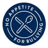 No appetite for bullying Badge