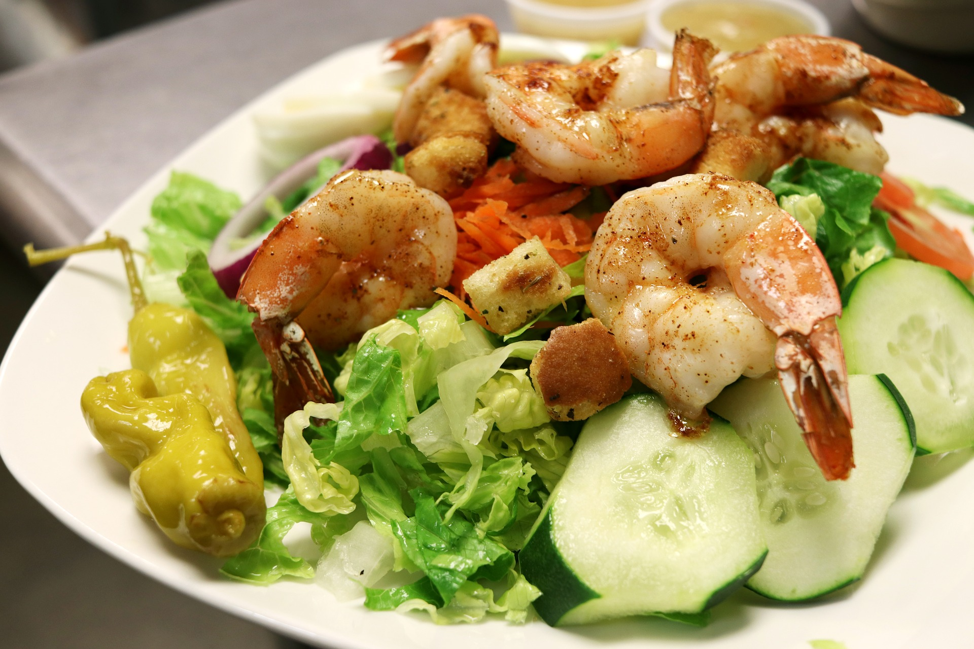 Shrimp salad chongdog pixabay